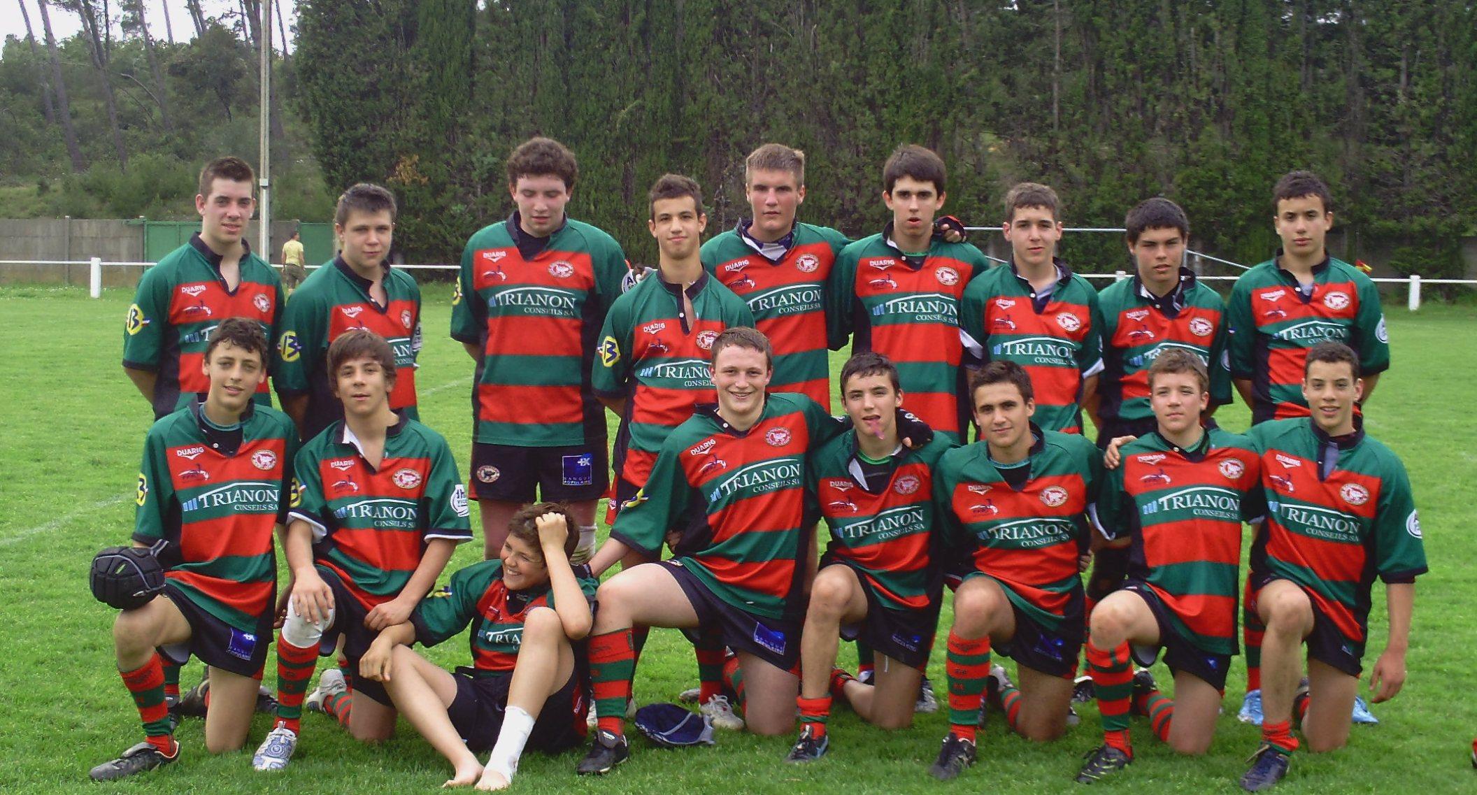 equipe cadet 2009 /2010