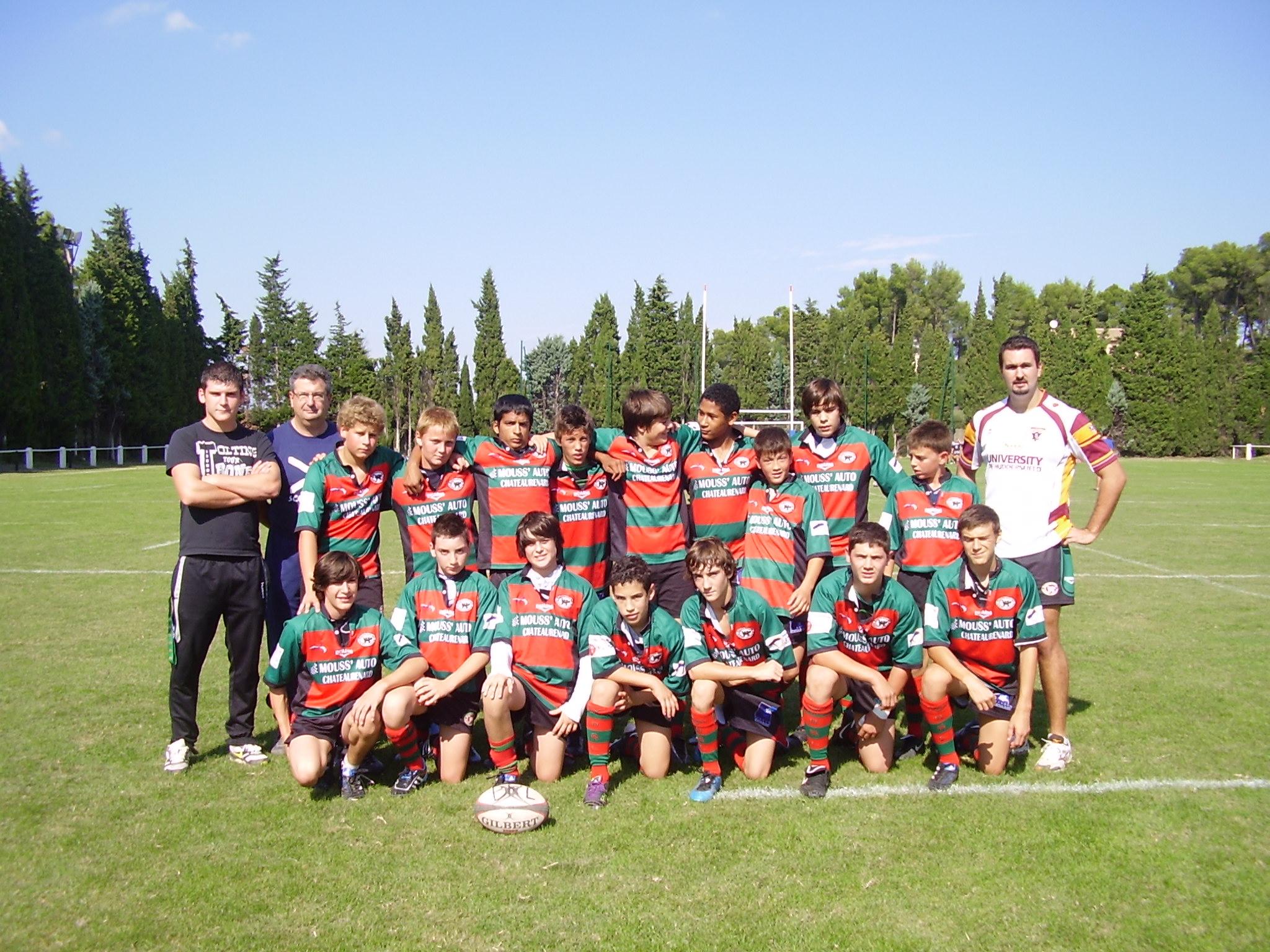 minimes saison  2010/2011